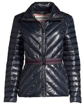 Hunter Gloss Down Puffer Jacket