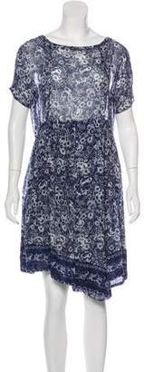 Band Of Outsiders Floral Midi Dress w/ Tags