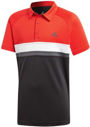 adidas Boys Colour block Club Tennis Polo