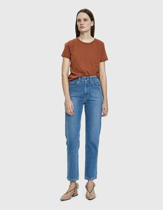 Which We Want Beverly Worn Tee in Clay