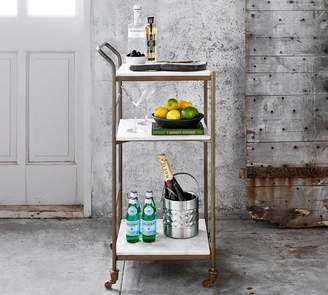 Pottery Barn Burwell Bar Cart
