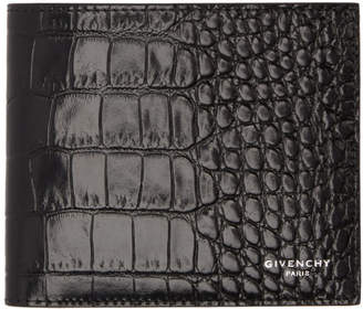 Givenchy Black Croc Wallet