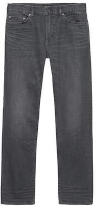 Banana Republic Straight Rapid Movement Denim Gray Wash Jean