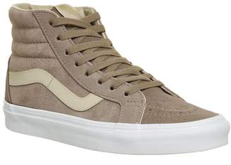 Vans Sk8 Hi Trainers Stucco Shifting Sand True White Exclusive