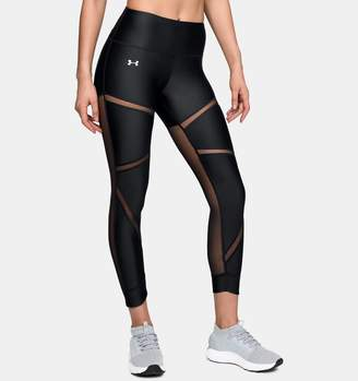 Under Armour Women's HeatGear Armour Fashion Ankle Crop