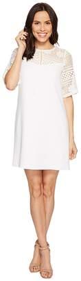Adrianna Papell Cameron Textured Woven Shift Dress Women's Dress