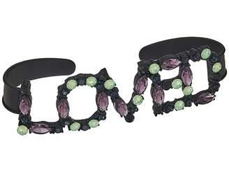 Steve Madden Casted Loved Handlet Bracelet Bracelet