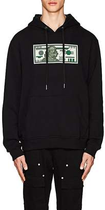 Mostly Heard Rarely Seen 8-Bit Men's Hundred-Dollar-Bill Cotton Hoodie