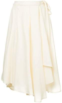 Lemaire loose flared skirt