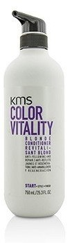 Kms California Color Vitality Blonde Conditioner (Anti-Yellowing and Repair) 750ml/25.3oz