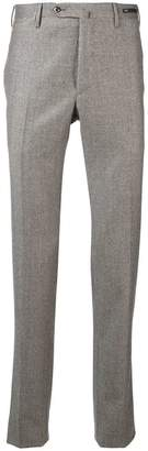Pt01 houndstooth slim-fit trousers