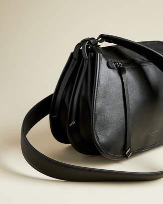 Ted Baker HETHERR Zip detail curved satchel