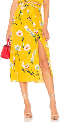 L'Academie The Andres Midi Skirt
