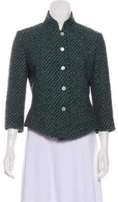 Fendi Patterned Wool Jacket
