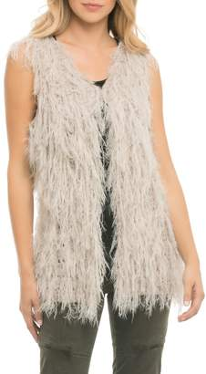 Elan International Sleeveless Shag Vest