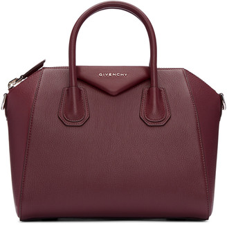 Givenchy Burgundy Small Antigona Bag $2,280 thestylecure.com