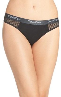 Women's Calvin Klein 'Ck One' Thong $20 thestylecure.com