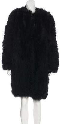 Sonia Rykiel Marabou Feather Coat