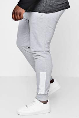 boohoo Big And Tall Skinny Fit Panelled MAN Jogger