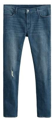 Mango Man MANGO MAN Skinny vintage wash Dylan jeans