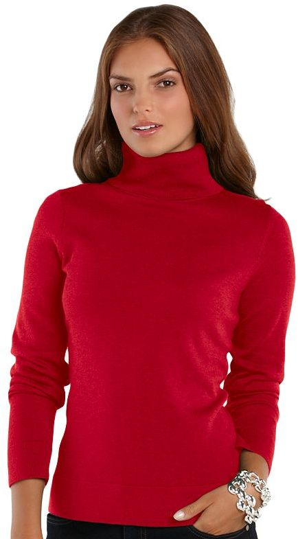 Chaps turtleneck sweater