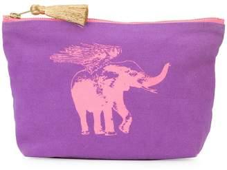 Figue Flying Elephant make-up bag