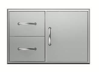 BroilChef Premium Double Cabinet and Door