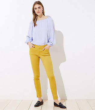 LOFT Skinny Slit Cuff Pants in Marisa Fit