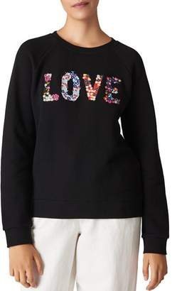 Whistles Love Ditsy-Floral Sweatshirt
