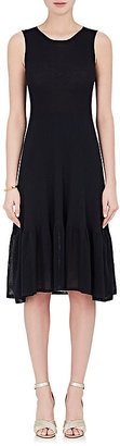 Giorgio Armani Women's Cotton-Silk Fit & Flare Dress $2,095 thestylecure.com