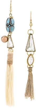 Forte Forte mismatched drop earrings