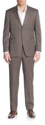 Lauren Ralph Lauren Regular-Fit Solid Wool-Blend Suit