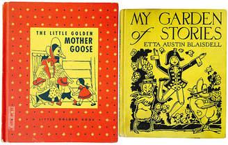 One Kings Lane Vintage Nursery Stories - Set of 2