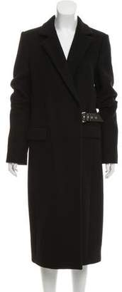 Salvatore Ferragamo Long Cashmere Coat