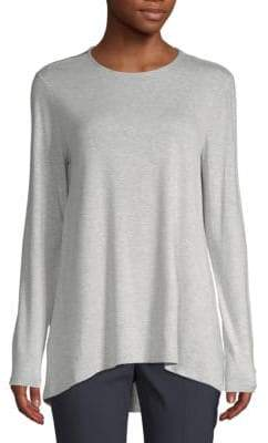 Saks Fifth Avenue Long-Sleeve Swing Tee