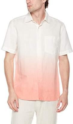 Isle Bay Linens Men's Standard Fit Dip Dye Short Sleeve Shirt ...