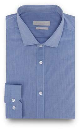 Red Herring - Blue Chambray Long Sleeve Slim Fit Shirt