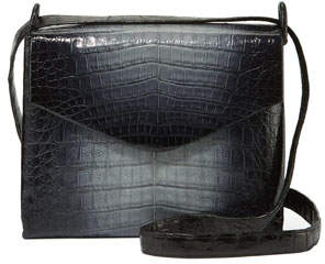 Nancy Gonzalez Ombre Crocodile Crossbody Bag