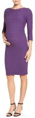Tees by Tina 'Crinkle' Maternity Dress