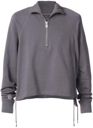 Siki Im zipped turtleneck sweater