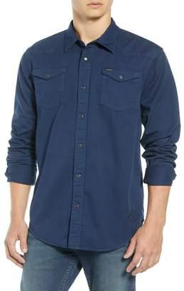 Scotch & Soda Regular Fit Garment Dyed Shirt