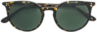 L.G.R patterned round frame sunglasses