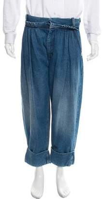 J.W.Anderson Cropped Straight-Leg Jeans w/ Tags