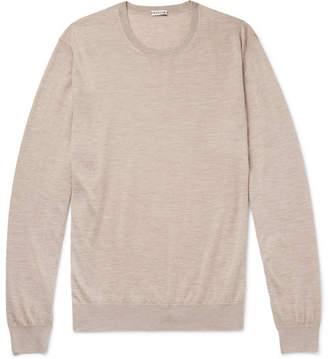 Caruso Cashmere And Silk-Blend Sweater