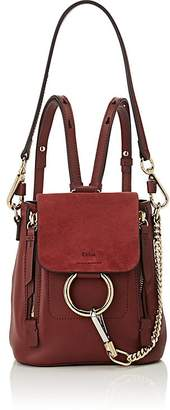 Chloé Women's Faye Mini Leather & Suede Backpack
