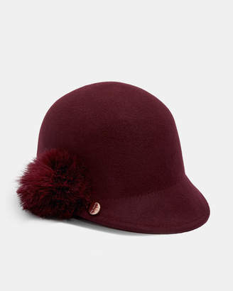 Ted Baker JADDAA Pom pom wool hat