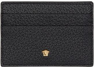 Versace Black Medusa Card Holder $195 thestylecure.com