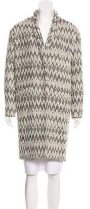 IRO Knit Knee-Length Coat