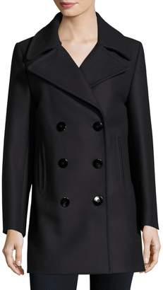 MiH Jeans Women's Wool Double-Breasted Coat
