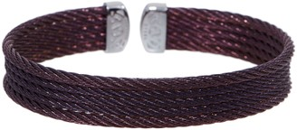 Alor Cable Stainless Steel 5-Row Flexible Cuff